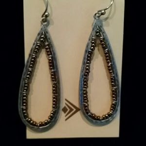 Silpada Bronze Bead Earrings